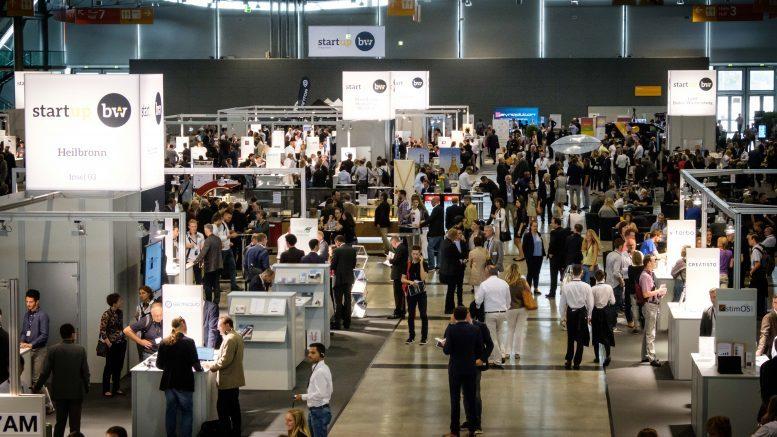 Bild vom StartUp Gipfel 2017 in Stuttgart